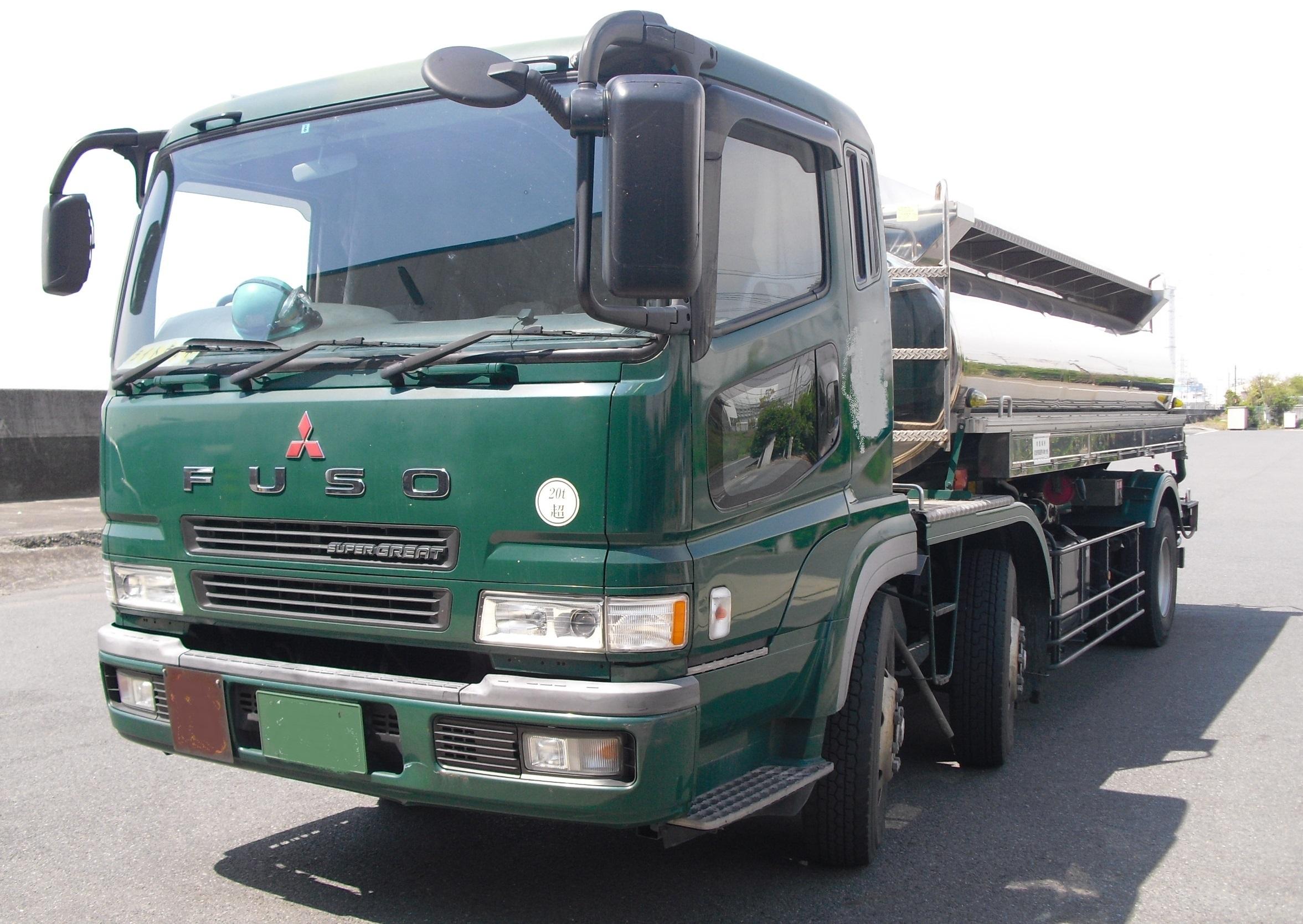 25トンの増トン車